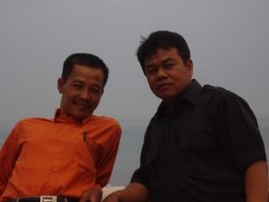 Bersama Bapak Mamun, M.Pd.